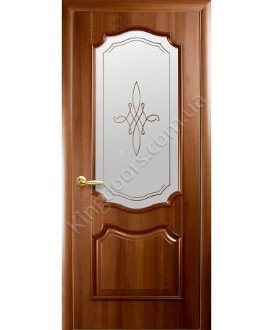 """Межкомнатные двери """"Рока"""",ПО +Р1. пленка ПВХ, фабрика """"Новый стиль"""", цвет - золотая ольха"""