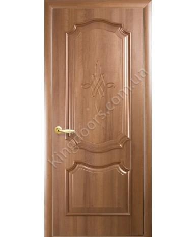 """Межкомнатные двери """"Рока"""",ПГ, пленка ПВХ, фабрика """"Новый стиль"""", цвет - золотая ольха."""