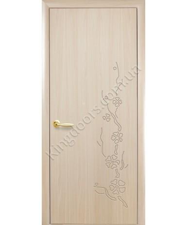 """Межкомнатные двери """"Колори Сакура"""" ПГ, пленка ПВХ, фабрика """"Новый стиль"""", цвет - ясень."""