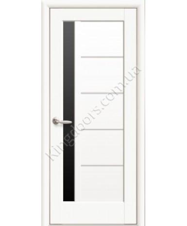 """Межкомнатные двери """"Грета"""",ПО ЧС, пленка ПВХ, фабрика """"Новый стиль"""", цвет - белый матовый"""