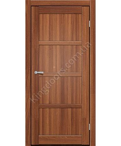 """Межкомнатные двери ART 04-01. Пленка ПВХ. Фабрика """"Art Door"""". Цвет орех"""