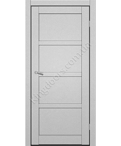 """Межкомнатные двери ART 04-01. Пленка ПВХ. Фабрика """"Art Door"""". Цвет металлик"""