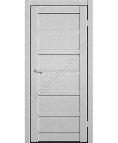 """Межкомнатные двери ART 08-01. Пленка ПВХ. Фабрика """"Art Door"""". Цвет металлик"""