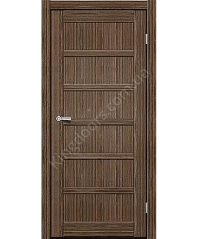 """Межкомнатные двери ART 08-01. Пленка ПВХ. Фабрика """"Art Door"""". Цвет зебрано"""