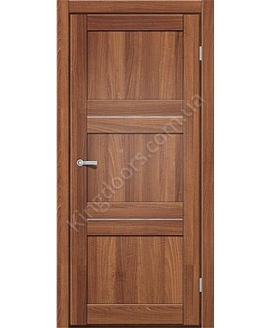 """Межкомнатные двери M 201. Пленка ПВХ. Фабрика """"Art Door"""". Цвет Дуб капучино"""