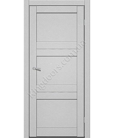 """Межкомнатные двери M 201. Пленка ПВХ. Фабрика """"Art Door"""". Цвет металлик"""