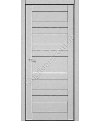 """Межкомнатные двери M 401. Пленка ПВХ. Фабрика """"Art Door"""". Цвет металлик"""