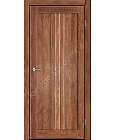 """Межкомнатные двери M 801. Пленка ПВХ. Фабрика """"Art Door"""". Цвет Дуб капучино"""