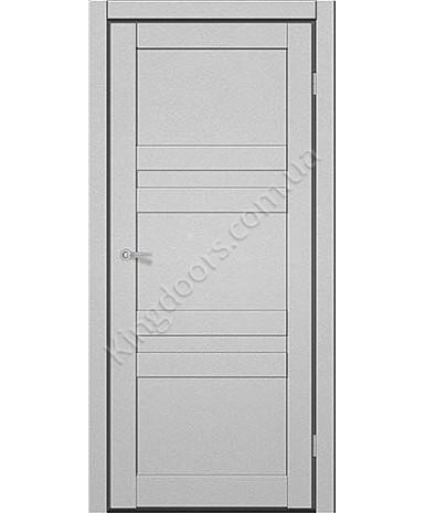 """Межкомнатные двери CTD 111. Пленка ПВХ. Фабрика """"Art Door"""". Цвет металлик"""