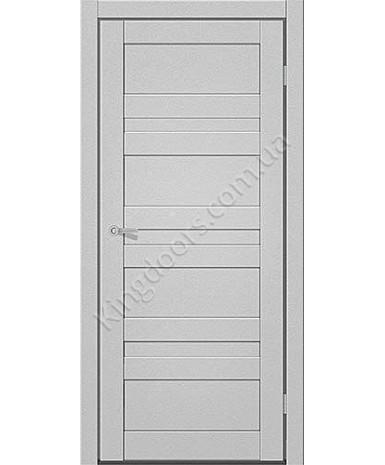 """Межкомнатные двери CTD 211. Пленка ПВХ. Фабрика """"Art Door"""". Цвет металлик"""