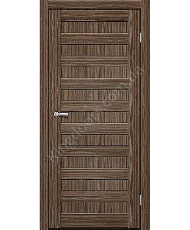"""Межкомнатные двери CTD 311. Пленка ПВХ. Фабрика """"Art Door"""". Цвет зебрано"""